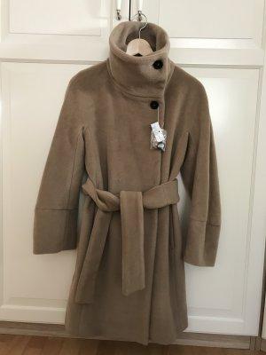 MaxMara Weekend Abrigo de lana camel Lana