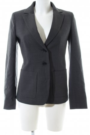 MaxMara Weekend Blazer boyfriend gris clair style d'affaires
