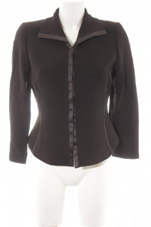 MaxMara Weekend Boyfriend-Blazer taupe-schwarz Business-Look
