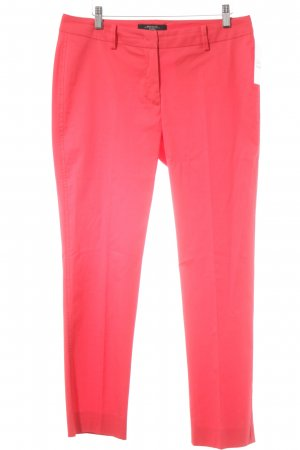 MaxMara Weekend Bundfaltenhose rot Casual-Look