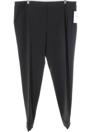 MaxMara Weekend Pantalone a pieghe nero stile professionale