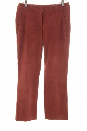 MaxMara Weekend Cordhose rostrot Casual-Look