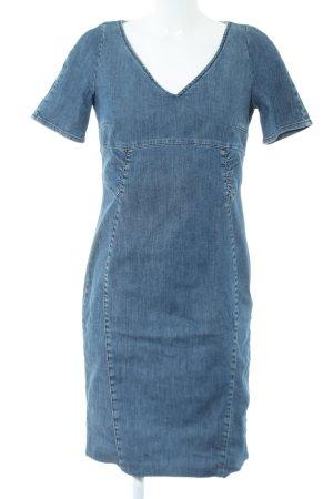 MaxMara Weekend Jeanskleid blau Casual-Look