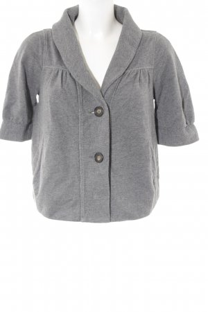 MaxMara Weekend Kurzjacke grau Casual-Look