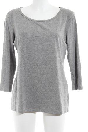 MaxMara Weekend Langarm-Bluse grau schlichter Stil