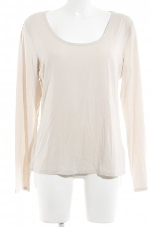 MaxMara Weekend Longsleeve creme Casual-Look