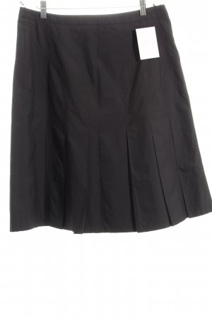 MaxMara Weekend Plaid Skirt black classic style