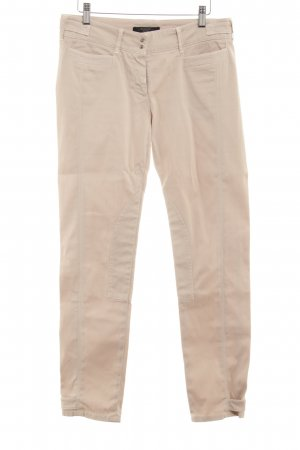 MaxMara Weekend Röhrenhose hellbeige Casual-Look