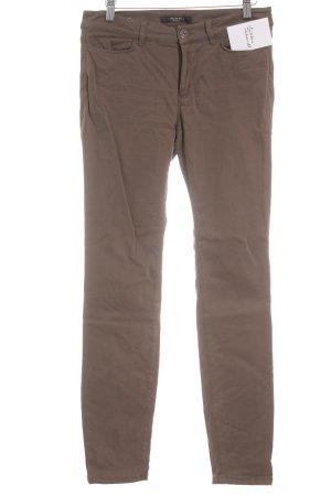 MaxMara Weekend Skinny jeans oker casual uitstraling