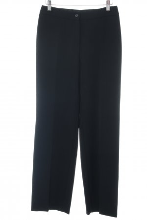 MaxMara Weekend Stoffhose schwarz Business-Look