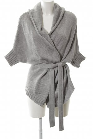 MaxMara Weekend Strickjacke hellgrau Casual-Look