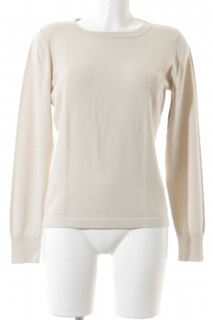 MaxMara Weekend Strickpullover creme Casual-Look