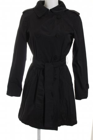 MaxMara Weekend Trenchcoat schwarz Business-Look