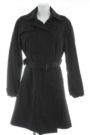 MaxMara Weekend Trenchcoat schwarz Casual-Look