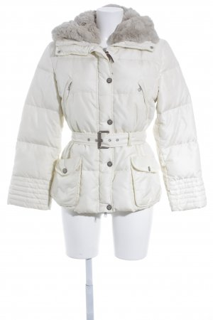 MaxMara Weekend Winterjacke hellbeige Steppmuster Casual-Look