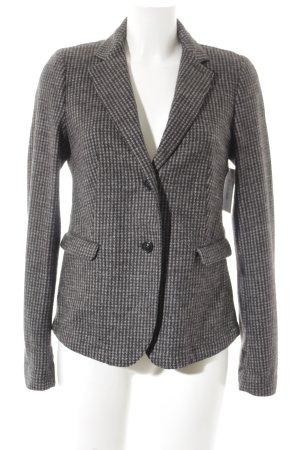 MaxMara Weekend Blazer en laine gris foncé-gris motif pied-de-poule