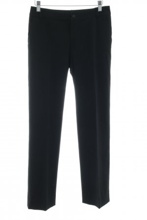 MaxMara Weekend Pantalon en laine noir style d'affaires