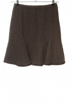 MaxMara Weekend Wool Skirt brown casual look