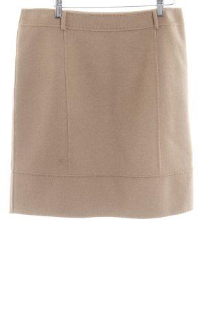 MaxMara Weekend Wollen rok beige simpele stijl