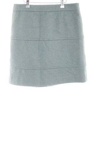 MaxMara Weekend Gonna di lana grigio chiaro puntinato elegante
