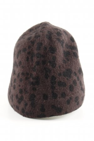 Maya Beanie bronze-colored-black allover print casual look