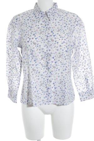 Mayfair London Langarm-Bluse florales Muster Casual-Look