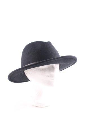 MAYSER Cappello in feltro nero stile professionale
