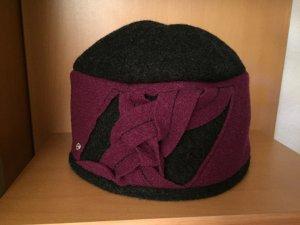 Wollen hoed veelkleurig Wol