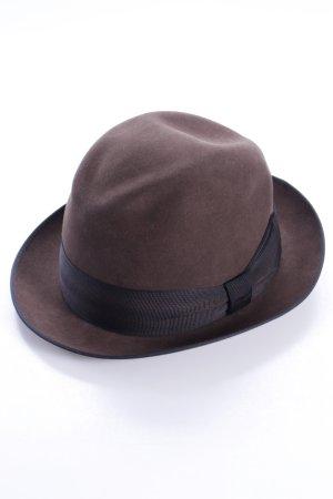 Rain Hat black brown-black wool