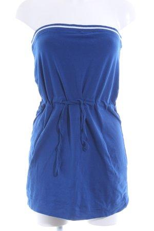 Mazine Bandeaukleid blau schlichter Stil
