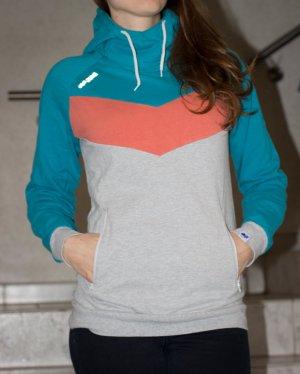 Mazine Hoodie Kapuzenpullover Gr. 36 chillig in den Winter starten!