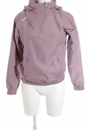 Mazine Hooded Shirt grey violet-purple athletic style