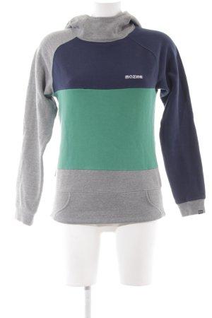 Mazine Kapuzensweatshirt mehrfarbig Boyfriend-Look