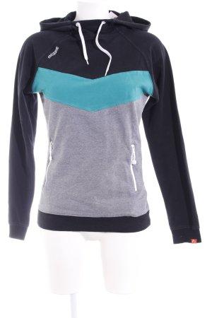Mazine Kapuzensweatshirt mehrfarbig sportlicher Stil