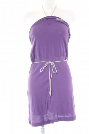 Mazine Halter Dress lilac casual look