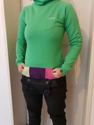Mazine Jersey con capucha verde-violeta oscuro