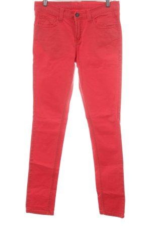 Mazine Slim Jeans rot Casual-Look
