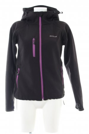 Mazine Softshell Jacket black-pink casual look