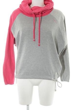 Mazine Sweatshirt magenta-grau Casual-Look
