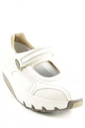 MBT Mary Janes cream athletic style