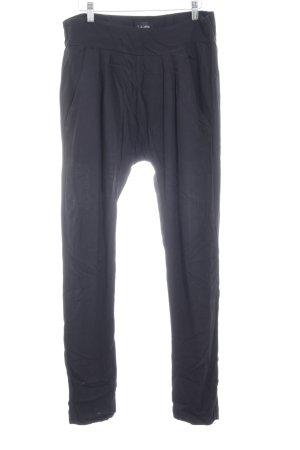 mbyM Pantalon «Baggy» noir style décontracté