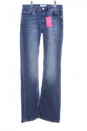 mbyM Boot Cut Jeans blau Casual-Look