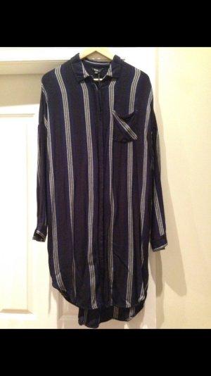 MbyM Dress Kleid via Kauf Dich Glücklich gestreift Hemdblusenkleid Kaftan Hippie