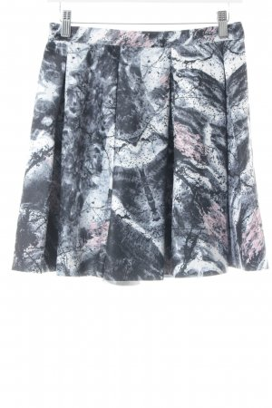 mbyM Faltenrock abstraktes Muster Elegant