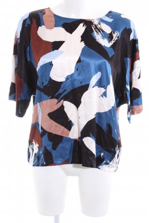 mbyM Splendor Blouse abstract pattern business style