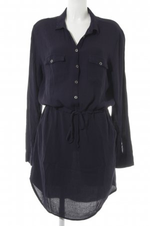 mbyM Shirtwaist dress dark blue casual look