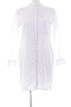 mbyM Hemdblusenkleid weiß extravaganter Stil
