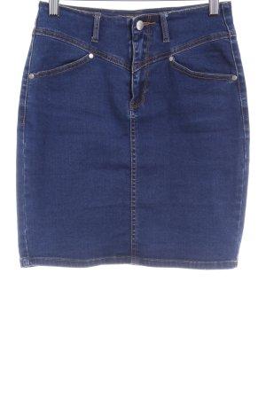 mbyM Jeansrock blau Jeans-Optik