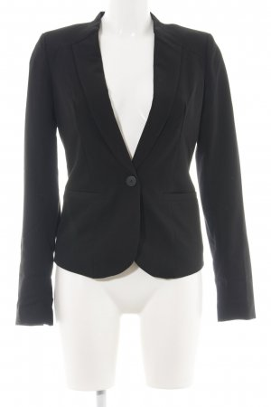 mbyM Kurz-Blazer schwarz Business-Look