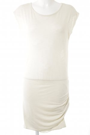 mbyM Kurzarmkleid creme Casual-Look